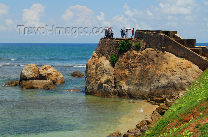 sri-lanka261: Galle, Southern Province, Sri Lanka: Flag Rock - de Visser's Hoek / Fisher's Hook - Galle Fort - Old Town - UNESCO World Heritage Site - photo by M.Torres - (c) Travel-Images.com - Stock Photography agency - Image Bank