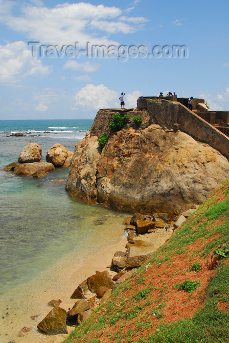 sri-lanka262: Galle, Southern Province, Sri Lanka: Flag Rock - Galle Fort - Old Town - UNESCO World Heritage Site - photo by M.Torres - (c) Travel-Images.com - Stock Photography agency - Image Bank