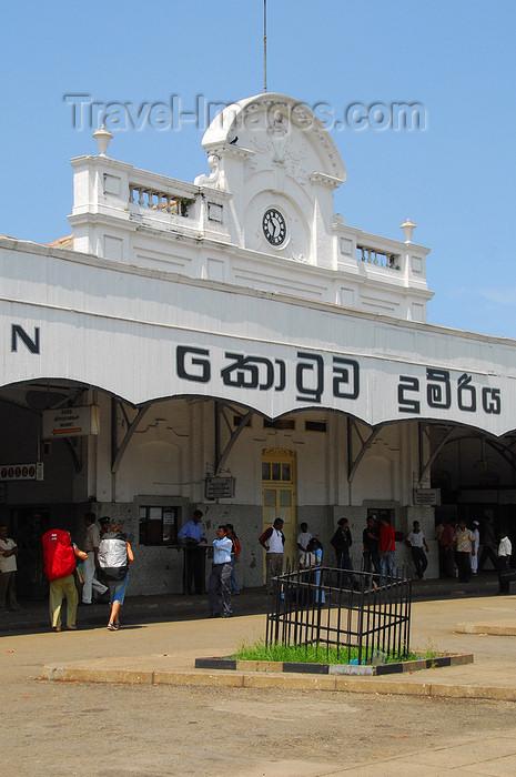 sri-lanka3: Colombo, Sri Lanka: Fort Railway Station - Olcott Mawatha, Pettah - photo by M.Torres - (c) Travel-Images.com - Stock Photography agency - Image Bank