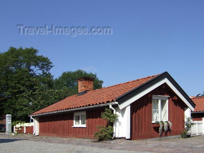 sweden103: Vastervik, Kalmar län, Sweden: Boatman's House - photo by A.Bartel - (c) Travel-Images.com - Stock Photography agency - Image Bank