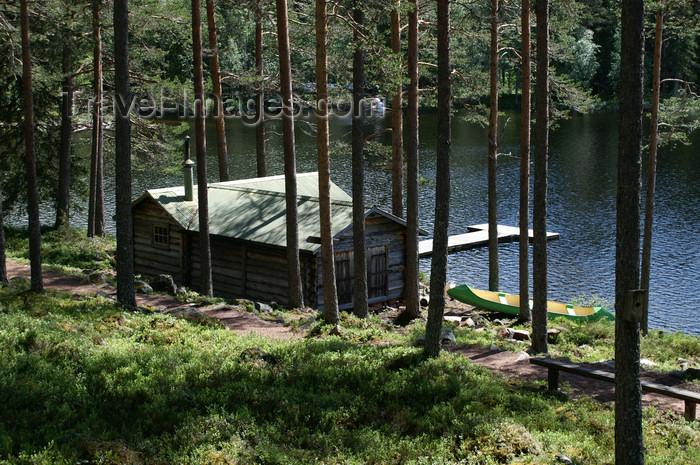 sweden74: Älvdalen, Dalarnas län, Sweden:a sauna by the lake Navarsjö - photo by A.Ferrari - (c) Travel-Images.com - Stock Photography agency - Image Bank