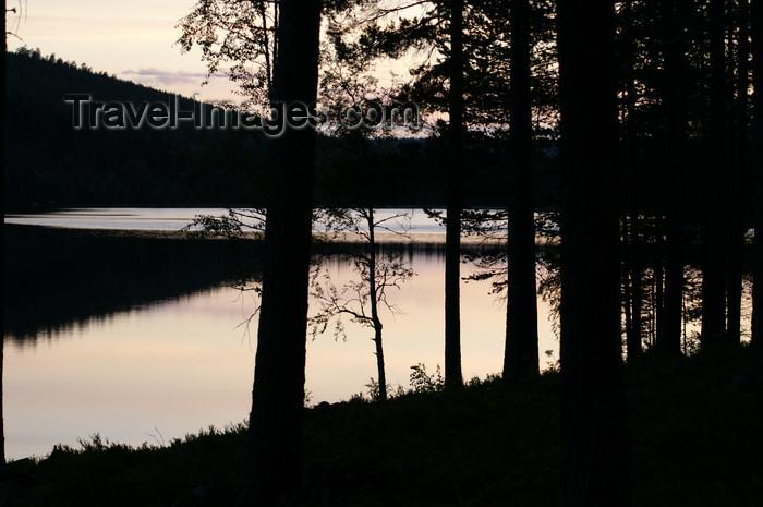 sweden84: Älvdalen, Dalarnas län, Sweden: lake Navarsjö after sunset - photo by A.Ferrari - (c) Travel-Images.com - Stock Photography agency - Image Bank