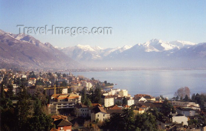 switz13: Switzerland - Locarno / ZJI - Ticino canton: on Lago Maggiore (photo by M.Torres) - (c) Travel-Images.com - Stock Photography agency - Image Bank