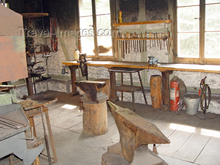 switz228: Ballenberg - open air museum: iron works / forge - photo by C.Roux - (c) Travel-Images.com - Stock Photography agency - Image Bank