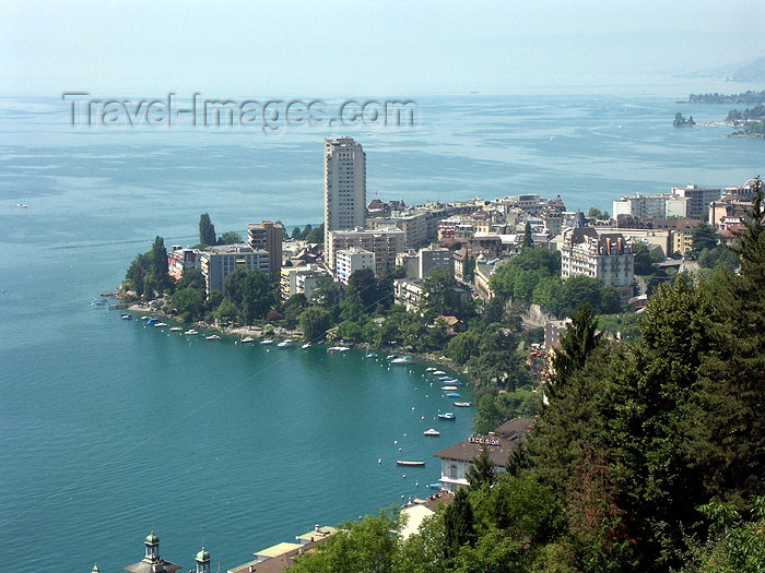 switz237: Switzerland - Montreux: riviera - view from Les Planches - depuis les Planches (photo by Christian Roux) - (c) Travel-Images.com - Stock Photography agency - Image Bank