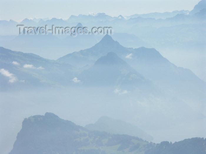 switz274: Switzerland / Suisse / Schweiz / Svizzera - Mt Pilatus: neighbouring mountains / montagnes avoisinantes - photo by C.Roux - (c) Travel-Images.com - Stock Photography agency - Image Bank