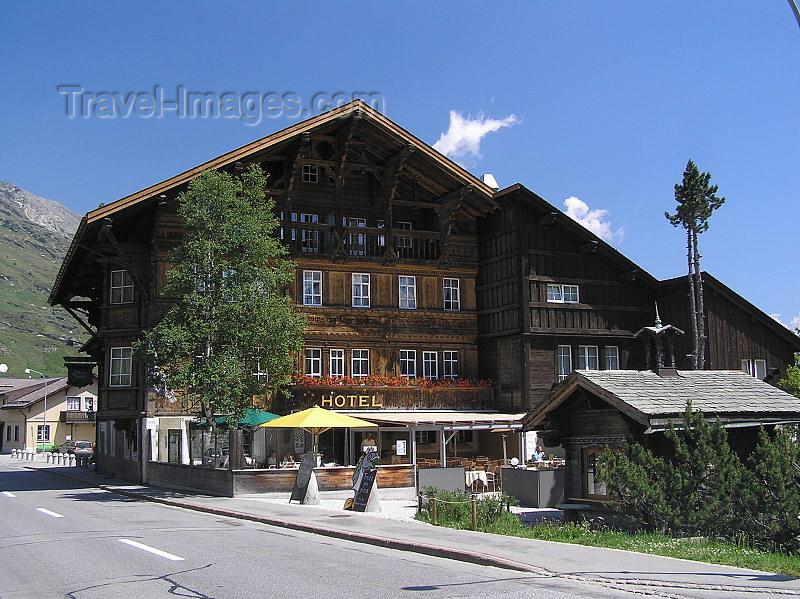 switz321: Switzerland - Maloja / Maloggia - Graubünden / Grigioni canton - small hotel - photo by J.Kaman - (c) Travel-Images.com - Stock Photography agency - Image Bank
