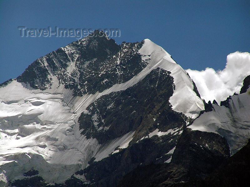 switz333: Switzerland - Piz Bernina - Graubünden / Grigioni canton - the highest peak of the Bernina Range and the highest mountain of the Eastern Alps - photo by J.Kaman - (c) Travel-Images.com - Stock Photography agency - Image Bank
