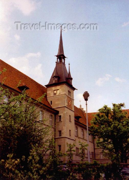 switz35: Switzerland - Lausanne (Vaud canton): Gymnase de la cité - photo by M.Torres - (c) Travel-Images.com - Stock Photography agency - Image Bank