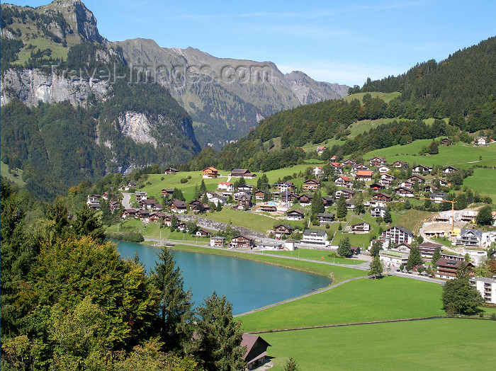 switz359: Titlis area, Obwalden, Unterwalden canton: view from near Titlis peak of the Urner Alp, towards Grindelwald - photo by E.Keren - (c) Travel-Images.com - Stock Photography agency - Image Bank