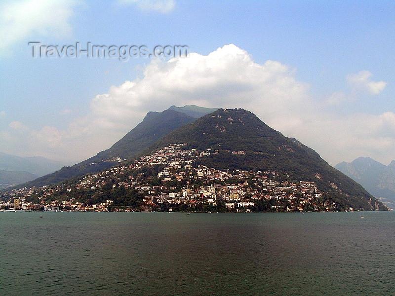 switz365: Switzerland - Lugano, Ticino canton: lake view - photo by J.Kaman - (c) Travel-Images.com - Stock Photography agency - Image Bank