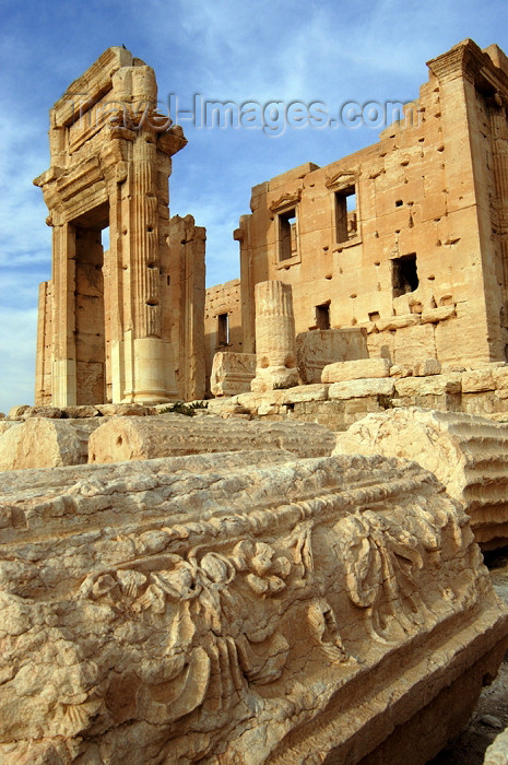 syria1: Syria - Palmyra  / Tadmor / PMS: Temple of Bel - decoration - photo by J.Wreford - (c) Travel-Images.com - Stock Photography agency - Image Bank