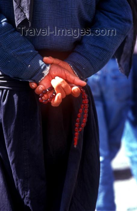 syria181: Syria - Maalula: Muslim prayer beads - photographer: J.Wreford - (c) Travel-Images.com - Stock Photography agency - Image Bank