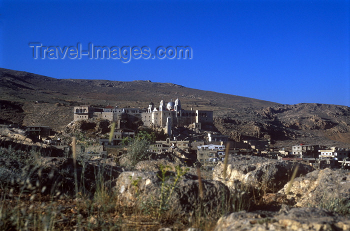 syria183: Syria - Seydnaya / Seidnayya: Orthodox Nunnery and the fields - photographer: J.Wreford - (c) Travel-Images.com - Stock Photography agency - Image Bank
