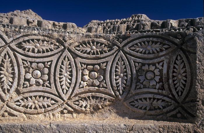 syria41: Palmyra, Syria: decoration - photo by J.Wreford - (c) Travel-Images.com - Stock Photography agency - Image Bank