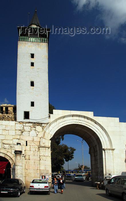 syria94: Syria - Damascus: Roman eastern gates - Bab ash Sharqi - start of the Via Recta - street called straight - photographer: M.Torres / Travel-Images.com - (c) Travel-Images.com - Stock Photography agency - Image Bank
