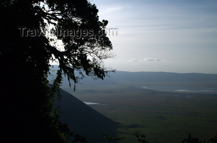 tanzania130: Tanzania - View over the Ngorongoro Crater - photo by A.Ferrari - (c) Travel-Images.com - Stock Photography agency - Image Bank