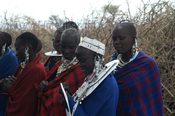 tanzania143: Tanzania - Masai people in a village near Ngorongoro Crater - photo by A.Ferrari - (c) Travel-Images.com - Stock Photography agency - Image Bank