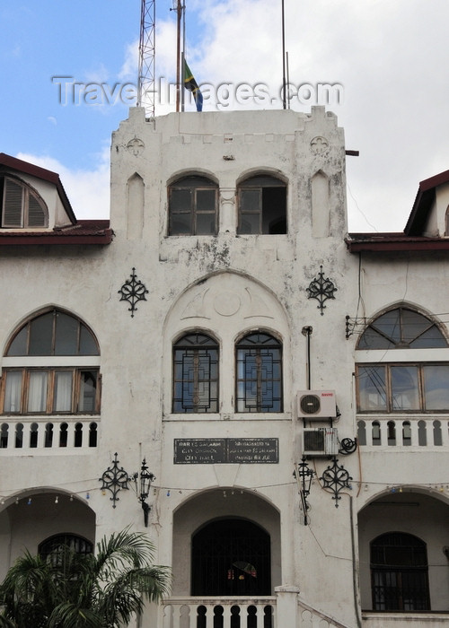 tanzania16: Dar es Salaam, Tanzania: City Hall - built by the Germans in 1903 - Morogoro road - Sokoine drive - photo by M.Torres - (c) Travel-Images.com - Stock Photography agency - Image Bank