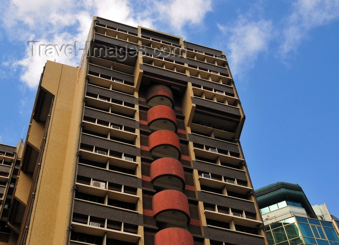 tanzania17: Dar es Salaam, Tanzania: United Bank of Africa tower - Samora Machel Avenue - photo by M.Torres - (c) Travel-Images.com - Stock Photography agency - Image Bank