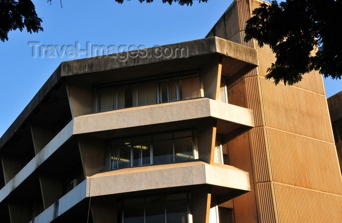 tanzania191: Dar es Salaam, Tanzania: ATC House detail - corner of Ohio Street and Garden Avenue - photo by M.Torres - (c) Travel-Images.com - Stock Photography agency - Image Bank