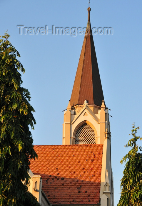 tanzania199: Dar es Salaam, Tanzania: spire of St Joseph's Cathedral - built by German Catholic missionaries - Sokoine Drive, corner with Bridge Street - photo by M.Torres - (c) Travel-Images.com - Stock Photography agency - Image Bank