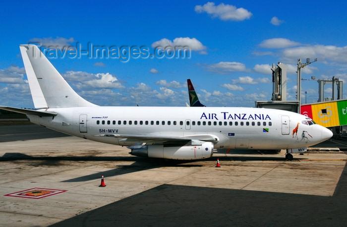 tanzania2: Dar es Salaam, Tanzania: Air Tanzania Boeing 737-247 5H-MVV (cn 23520-1329) - aircraft at Julius Nyerere International Airport - JNIA - DAR - photo by M.Torres - (c) Travel-Images.com - Stock Photography agency - Image Bank
