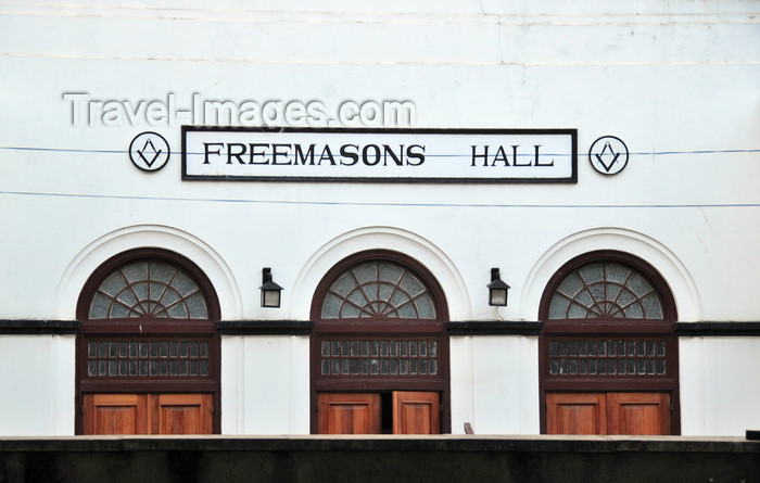 tanzania210: Dar es Salaam, Tanzania: Freemasons hall - Grand Lodge of East Africa - photo by M.Torres - (c) Travel-Images.com - Stock Photography agency - Image Bank