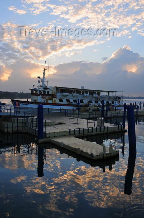 tanzania213: Dar es Salaam, Tanzania: sunrise at the Zanzibar ferry terminal - Sokoine Drive - photo by M.Torres - (c) Travel-Images.com - Stock Photography agency - Image Bank