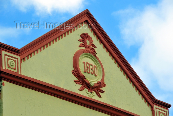 tanzania25: Dar es Salaam, Tanzania: gable of a 1930 British colonial building - photo by M.Torres - (c) Travel-Images.com - Stock Photography agency - Image Bank