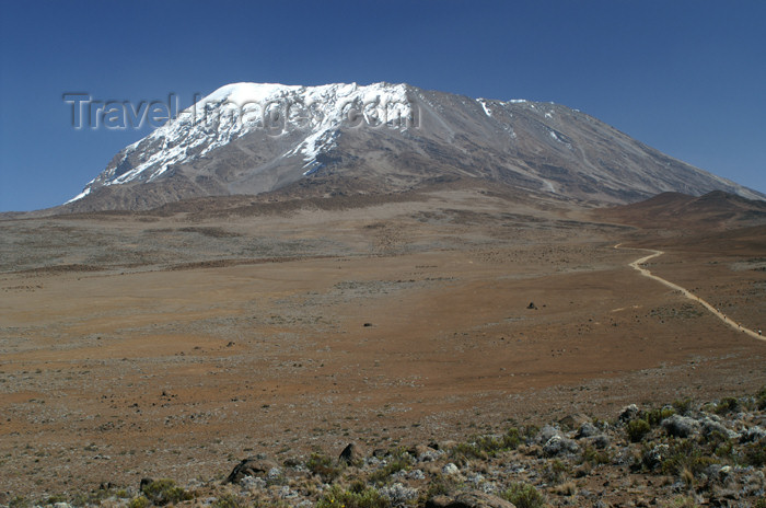 tanzania58: Tanzania - Kilimanjaro NP: Marangu Route - day 4 - Mount Kilimanjaro,  Kibo and the alpine desert - photo by A.Ferrari - (c) Travel-Images.com - Stock Photography agency - Image Bank