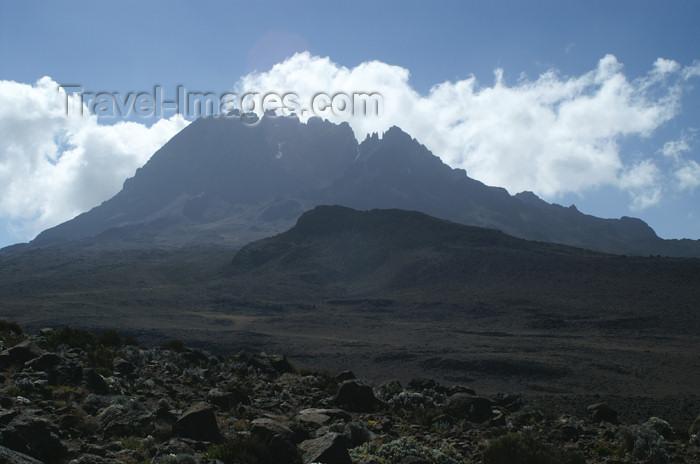 tanzania59: TTanzania - Kilimanjaro NP: Marangu Route - day 4 - Mount Kilimanjaro, the Mawenzi peaks seen from the alpine desert - photo by A.Ferrari - (c) Travel-Images.com - Stock Photography agency - Image Bank