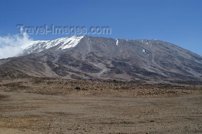 tanzania64: Tanzania - Kilimanjaro NP: Marangu Route - day 4 - Mount Kilimanjaro, view over the route - photo by A.Ferrari - (c) Travel-Images.com - Stock Photography agency - Image Bank