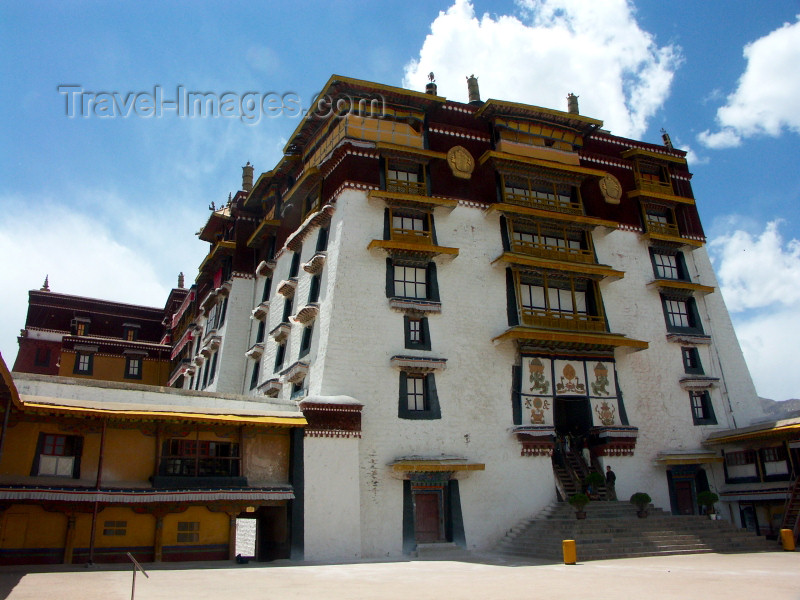 tibet14: Tibet - Lhasa: at the Potala Palace - photo by P.Artus - (c) Travel-Images.com - Stock Photography agency - Image Bank