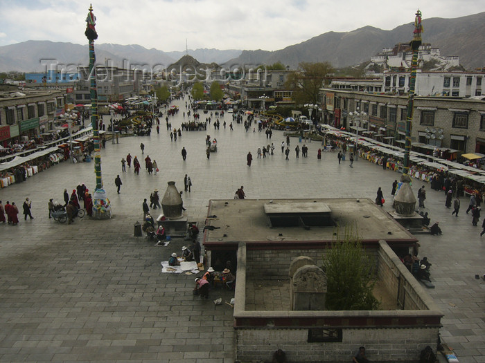 tibet61: Tibet - Lhasa: Jokhang Temple - photo by M.Samper - (c) Travel-Images.com - Stock Photography agency - Image Bank