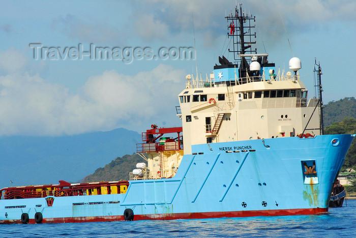 trinidad-tobago47: Port of Spain, Trinidad: Maersk Puncher - anchor handling, tug, supply vessel -  Imo no.: 9007168 - photo by E.Petitalot - (c) Travel-Images.com - Stock Photography agency - Image Bank
