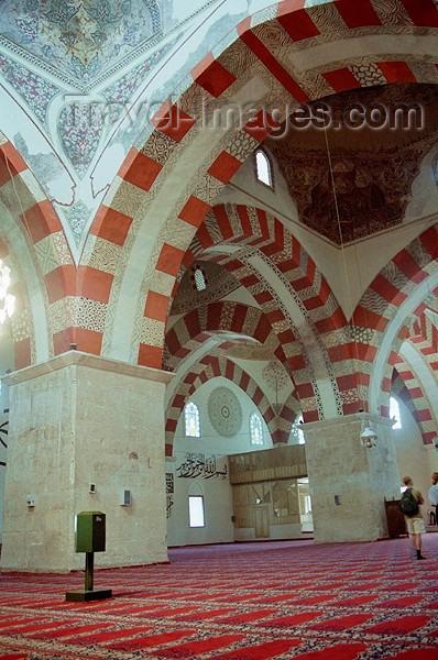 turkey101: Turkey - Edirne: Selimiye mosque - inside - photo by J.Kaman - (c) Travel-Images.com - Stock Photography agency - Image Bank