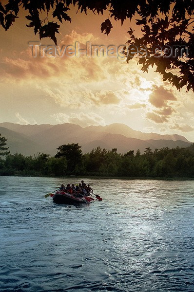 turkey115: Turkey - Koprulu (Antalya Province - Mediterranean Region): rafting on the river - photo by J.Kaman - (c) Travel-Images.com - Stock Photography agency - Image Bank