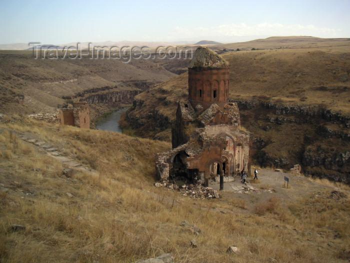 turkey162: Ani - Kars province, Turkey: Armenian church of St Gregory of Tigran Honents near the Arpacay / Akhurian river - photo by A.Kilroy - (c) Travel-Images.com - Stock Photography agency - Image Bank