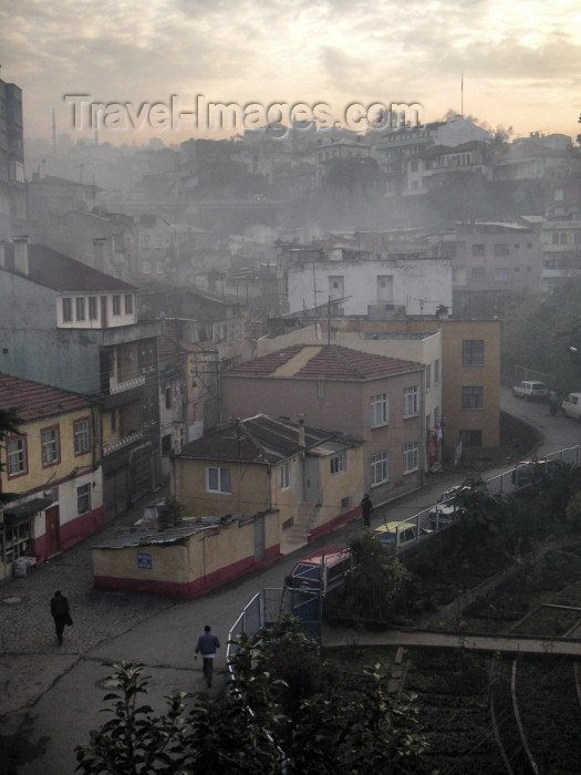 turkey166: Turkey - Trabzon / Trebizond / TZX (ancient Greek city of Trapezus): view of the old town - photo by A.Kilroy - (c) Travel-Images.com - Stock Photography agency - Image Bank