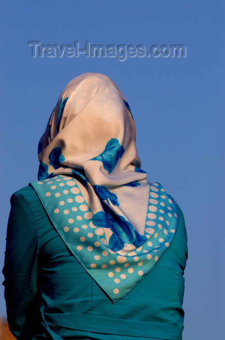turkey172: Istanbul, Turkey: Turkish muslim woman with hijab / scarf - photo by J.Wreford - (c) Travel-Images.com - Stock Photography agency - Image Bank