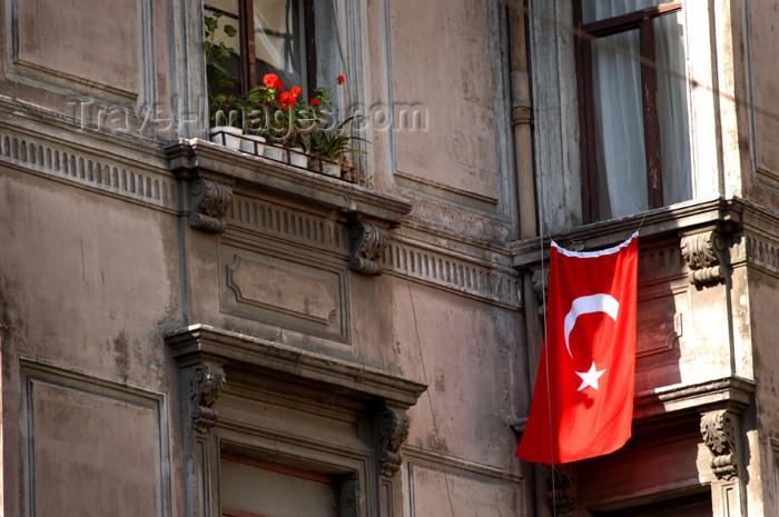 turkey176: Istanbul, Turkey: Turkish architecture - Istiklal caddesi - Beyoglu district - photo by J.Wreford - (c) Travel-Images.com - Stock Photography agency - Image Bank