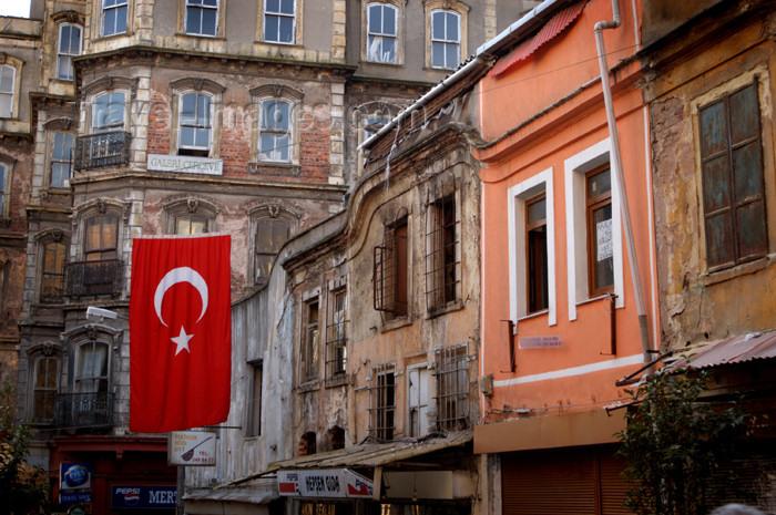 turkey180: Istanbul, Turkey: Turkish architecture - Karakoy - photo by J.Wreford - (c) Travel-Images.com - Stock Photography agency - Image Bank