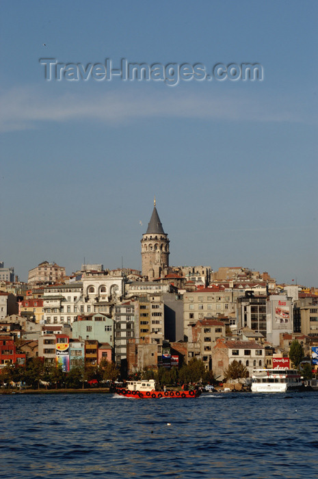 turkey200: Istanbul, Turkey: the golden horn and Galata tower - Beyoglu - photo by J.Wreford - (c) Travel-Images.com - Stock Photography agency - Image Bank