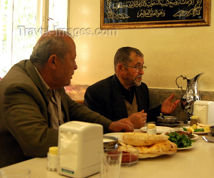 turkey261: Gaziantep / Antep, Southeast Anatolia region, Turkey: two men in a restaurant - photo by C. le Mire - (c) Travel-Images.com - Stock Photography agency - Image Bank