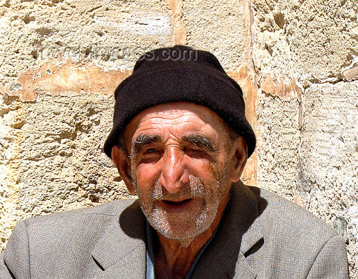 turkey263: Mardin, Southeastern Anatolia, Kurdistan,Turkey: old man at the Syrian Orthodox monastery - photo by C. le Mire - (c) Travel-Images.com - Stock Photography agency - Image Bank
