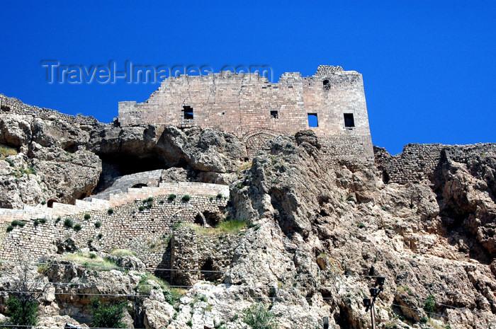 turkey267: Turkey - Mardin: the citadel / fortress / castle - castillo - photo by C. le Mire - (c) Travel-Images.com - Stock Photography agency - Image Bank