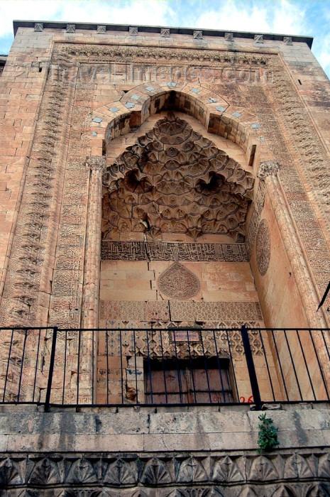turkey269: Mardin - Kurdish area, Southeastern Anatolia, Turkey: detail of the Sultan Isa madrassa - photo by C. le Mire - (c) Travel-Images.com - Stock Photography agency - Image Bank