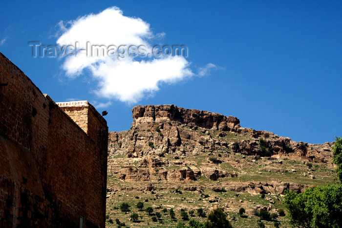 turkey273: Turkey - Mardin: view from Dayr Zafaran - the Saffron Monastery - Suryani - photo by C. le Mire - (c) Travel-Images.com - Stock Photography agency - Image Bank