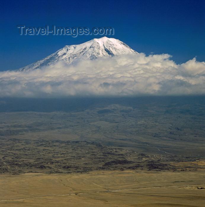 turkey28: Mount Ararat / Aragats / Çiyayê Agiri, Agri Province, East Anatolia, Turkey: Great Ararat resting place of Noah's ark - photo by W.Allgöwer - (c) Travel-Images.com - Stock Photography agency - Image Bank